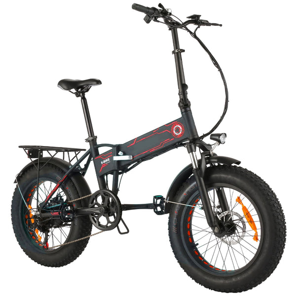 ANCHEER 20 Inch Wheel 500W Fat Tire Electric Mountain Bike with Removable 36V 12.5Ah Battery (Pre-sale: Shipped 15 days after order)