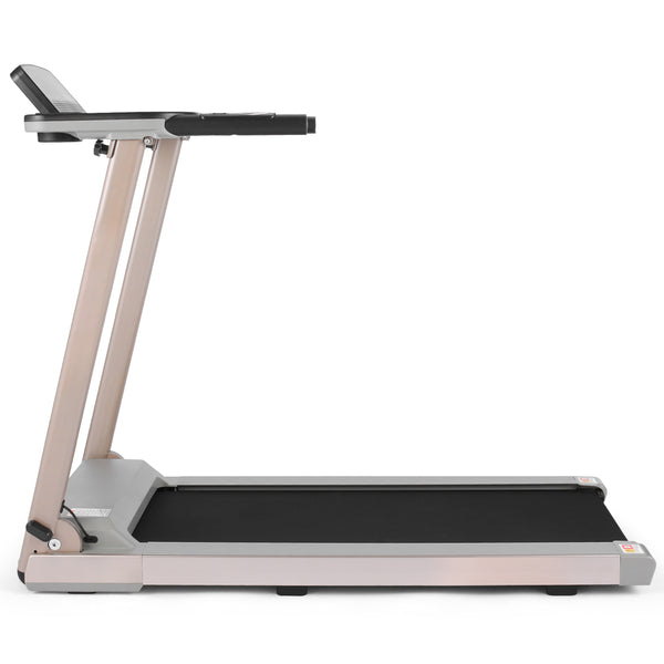 ANCHEER 2.25HP Folding Treadmill With Table Rack