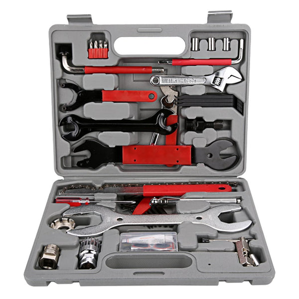 Ancheer Bike Repair Tool Kit Set with Case 37 Pcs in 1 Bicycle Maintenance Repair Tools