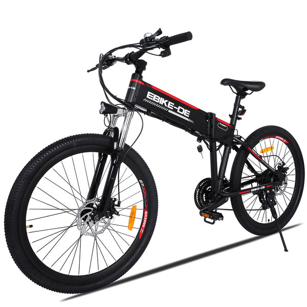26 Inch 36V 8A Electric Mountain Bike EU Plug