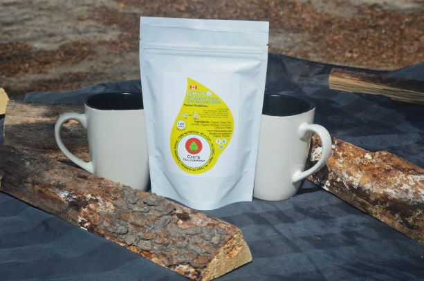Turmeric Twist the healing touch Tea - Chi's Edibles