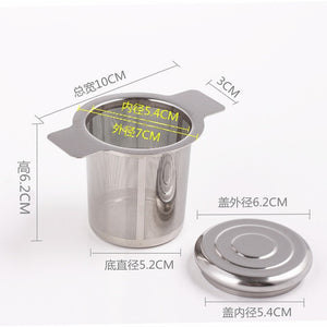 Metal Tea Leak Filter Infuser Stainless Steel Loose Tea Leaf  Spice Strainer Filter Herbal Spice Kitchen Accessories