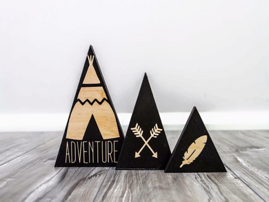 Mountain Sets of 3