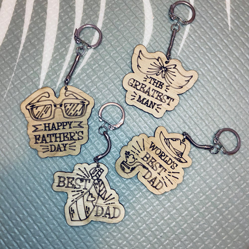 Father's Day Key Ring