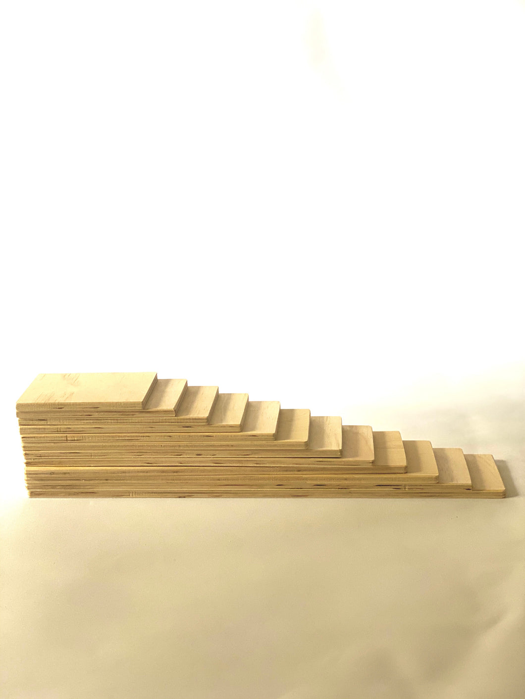 Wooden counting planks