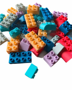 Silicone building bricks