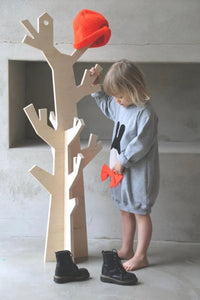Wooden Tree Coat Stand
