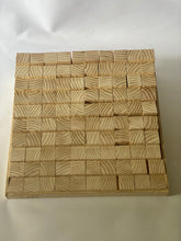 Wooden counting blocks