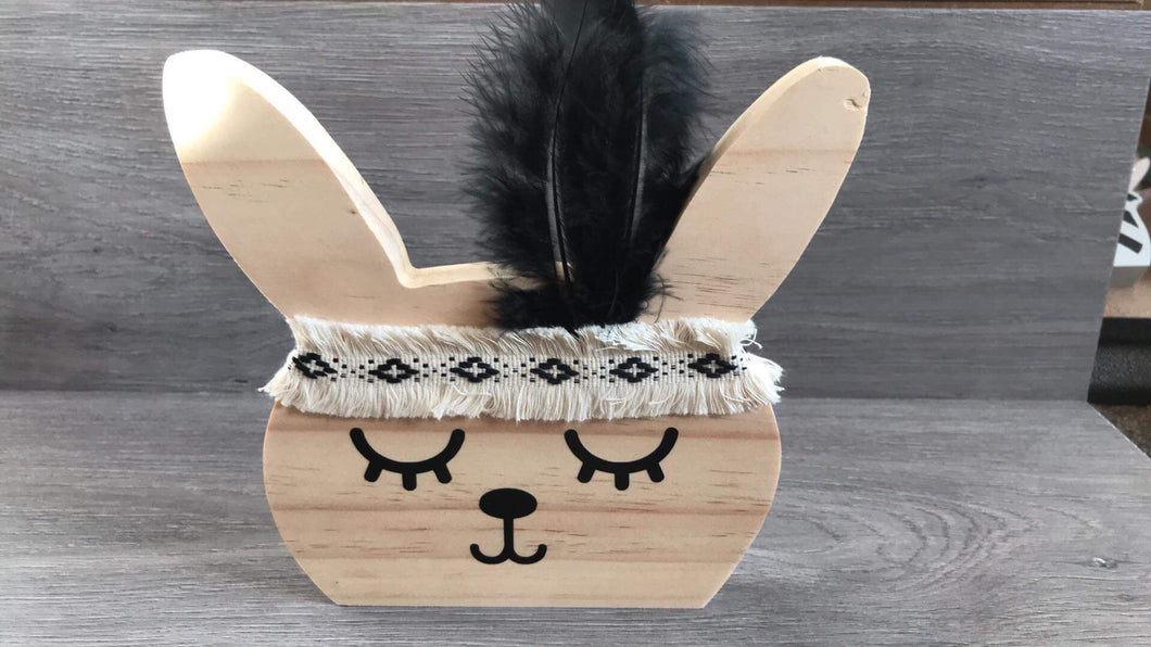 Wooden adventure bunny