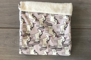 Grey Unicorn Blanket
