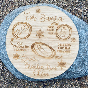 Personalised Santa Board