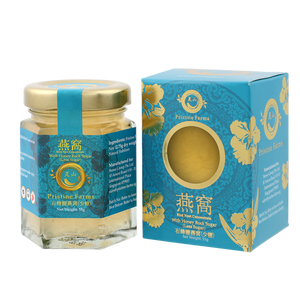 Pristine Farms Bird Nest Concentrate with Honey Rock Sugar ( Less Sugar ) 55g + 2.75g Dried Nest