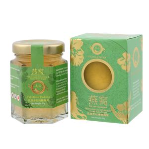 Pristine Farms Bird Nest Concentrate with Honey Rock Sugar + American Ginseng 55g+2.75g Dried Nest