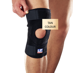 KNEE BRACE SUPPORT OPEN PATELLA LP - TAN