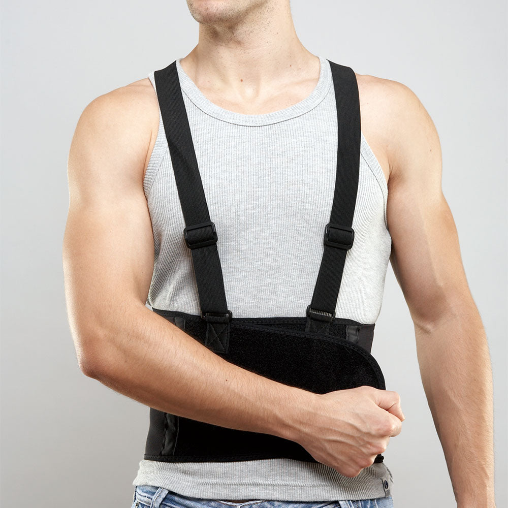 BACK BRACE SUPPORT INDUSTRIAL LP