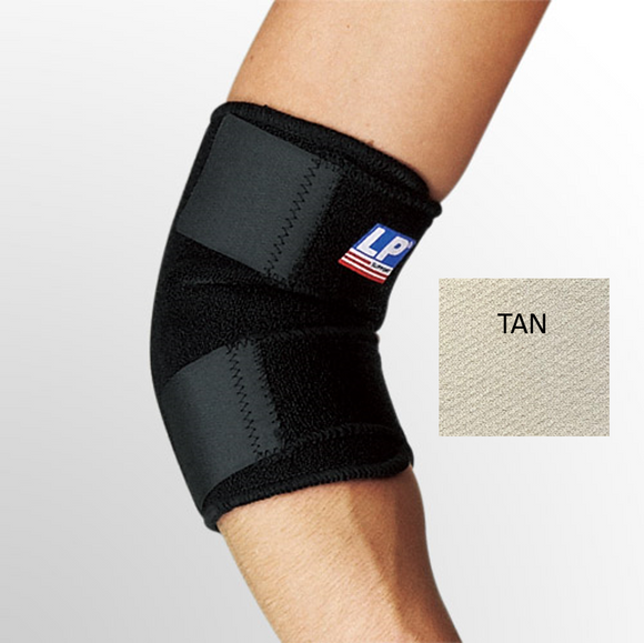 ELBOW SUPPORT BRACE LP TAN
