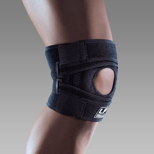 KNEE BRACE SUPPORT WITH POSTERIOR REINFORCEMENT STRAPS EXTREME LP