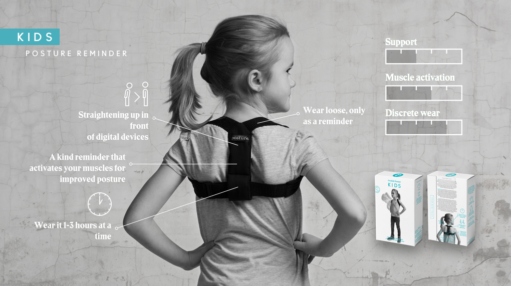 SWEDISH POSTURE CORRECTOR FLEXI KIDS