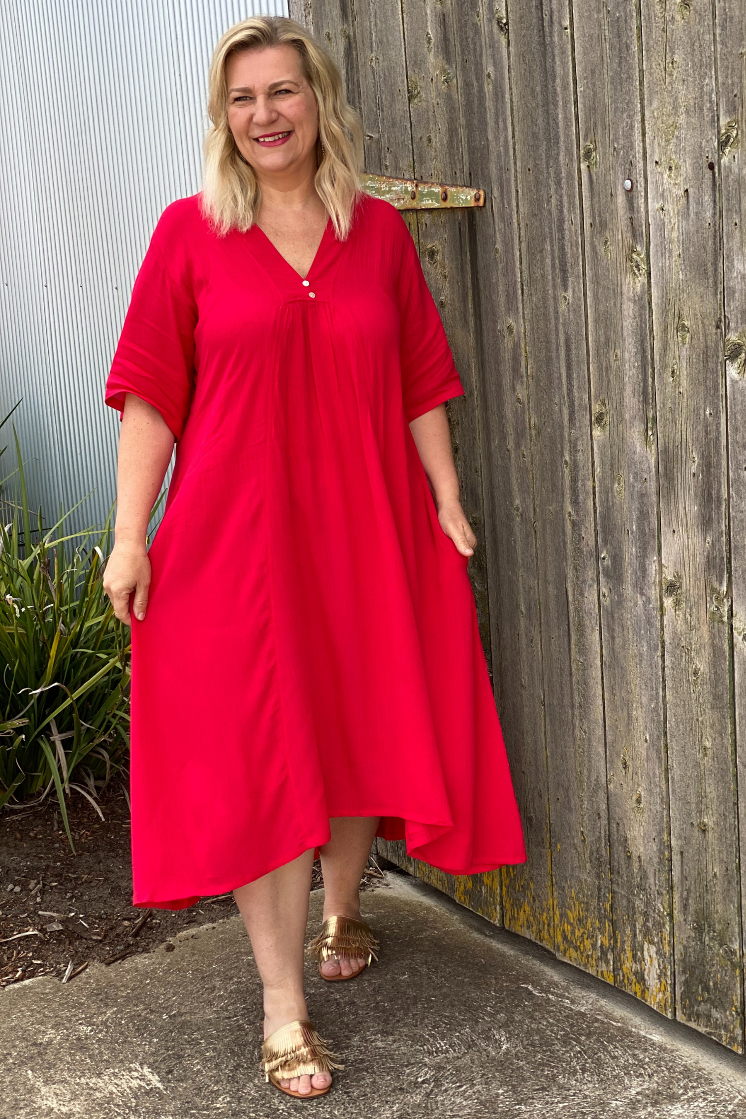 Dress Esher - Red