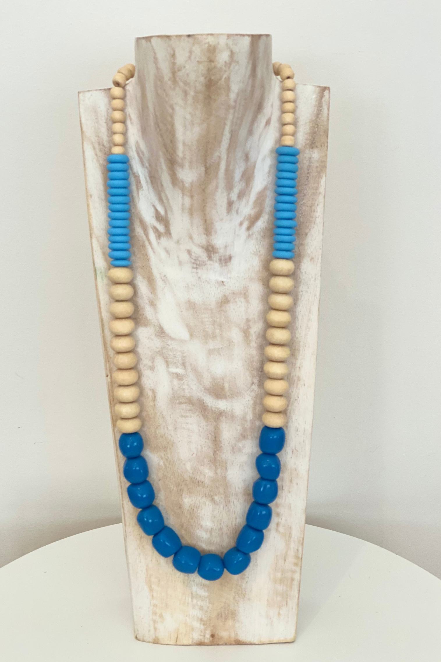 Necklace NBB318 - Cobalt