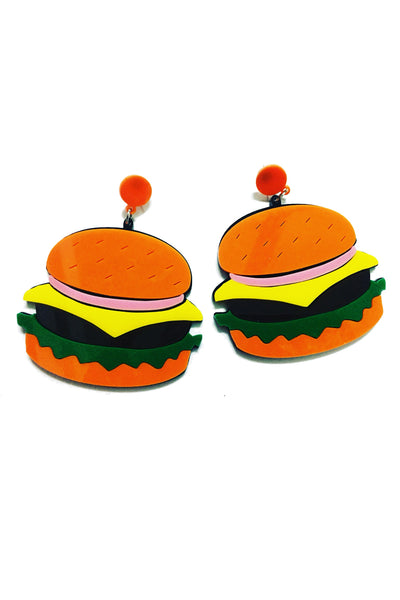 Burger Earrings for Sale Online