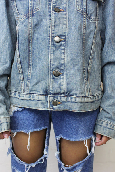 90'S Vintage Big John Unisex Denim Jacket