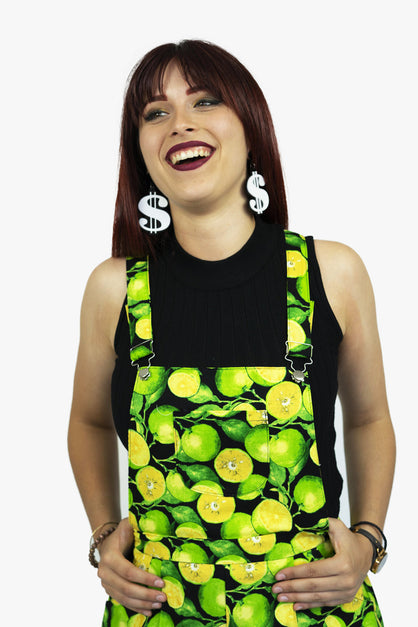Shortalls With a Slice of Lime