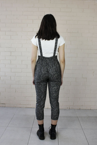 Bronte Long Overalls Textured