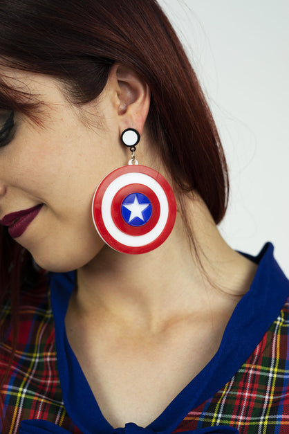 American Comic Earrings