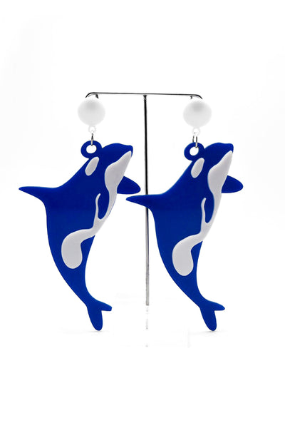 Willy Whale Earrings