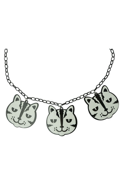 Cat Face Necklace