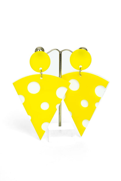 A Slice Of Cheese Earrings