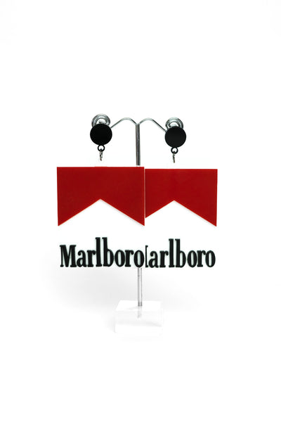 Ciggie Pack Earrings