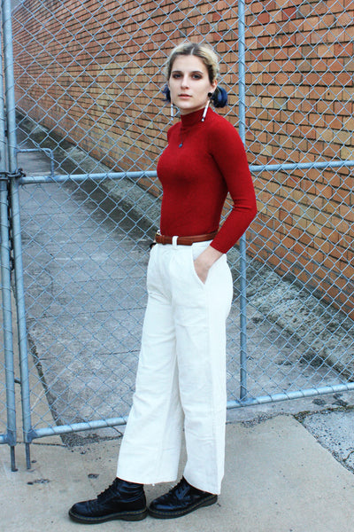 Marcia Corduroy Pants Cream