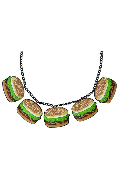Hamburger Necklace