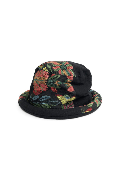 Bucket Hat Aztec Floral Black