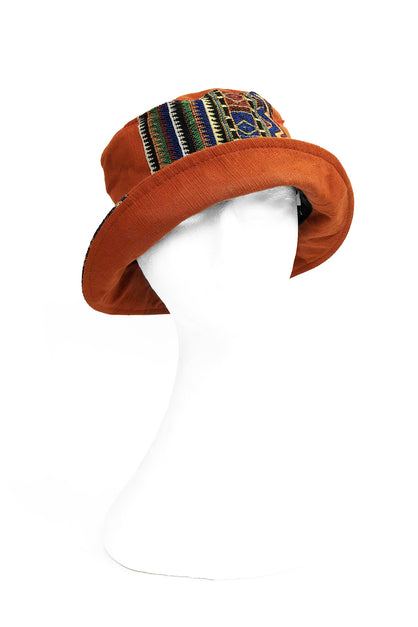 Bucket Hat Aztec Orange