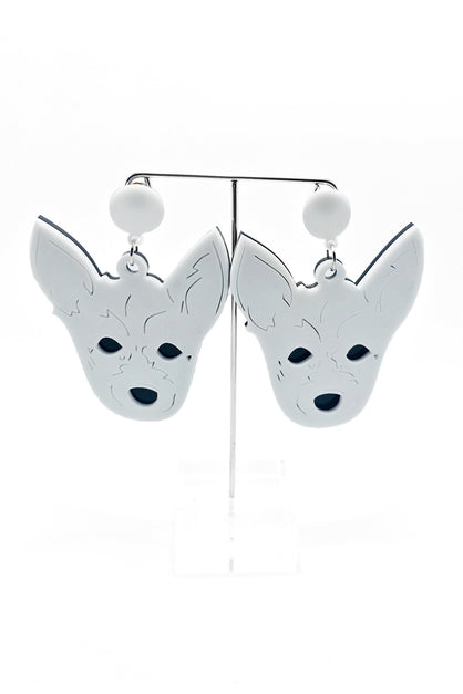 Jack Russell Dog Earrings australia