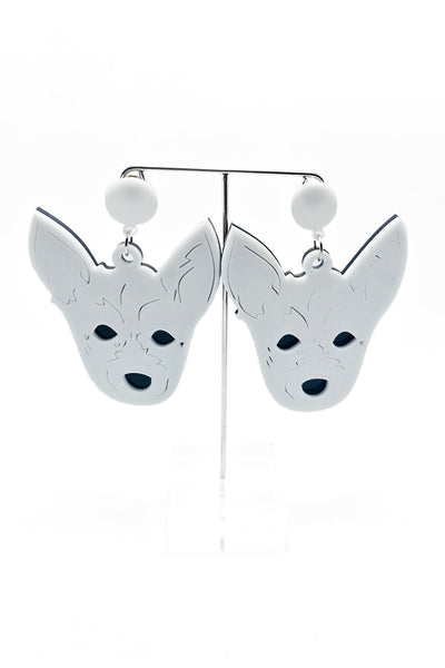 Jack Russell Dog Earrings