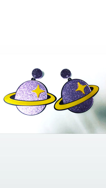 Saturn Planet Earrings Pre Order