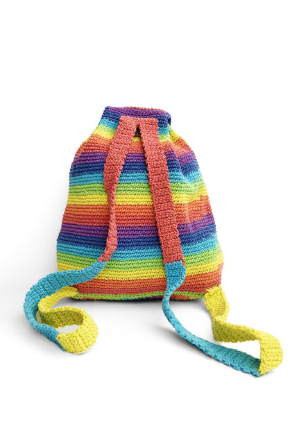 Crochet Pastel Rainbow Bag