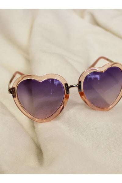 Sunset Lolita Heart Sunglasses
