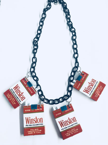 Winston Cigarette Necklace
