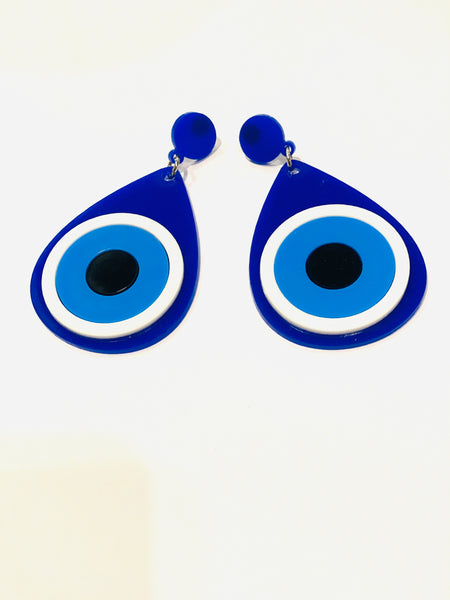 Evil Eye Tear Drop