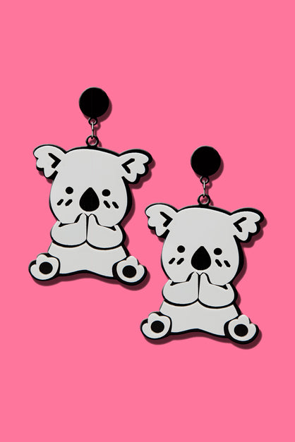 Giggling Koala Earrings