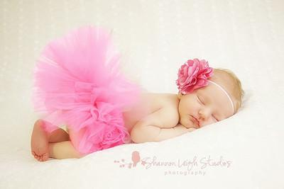 Newborn Photo Prop Tutu/Headband