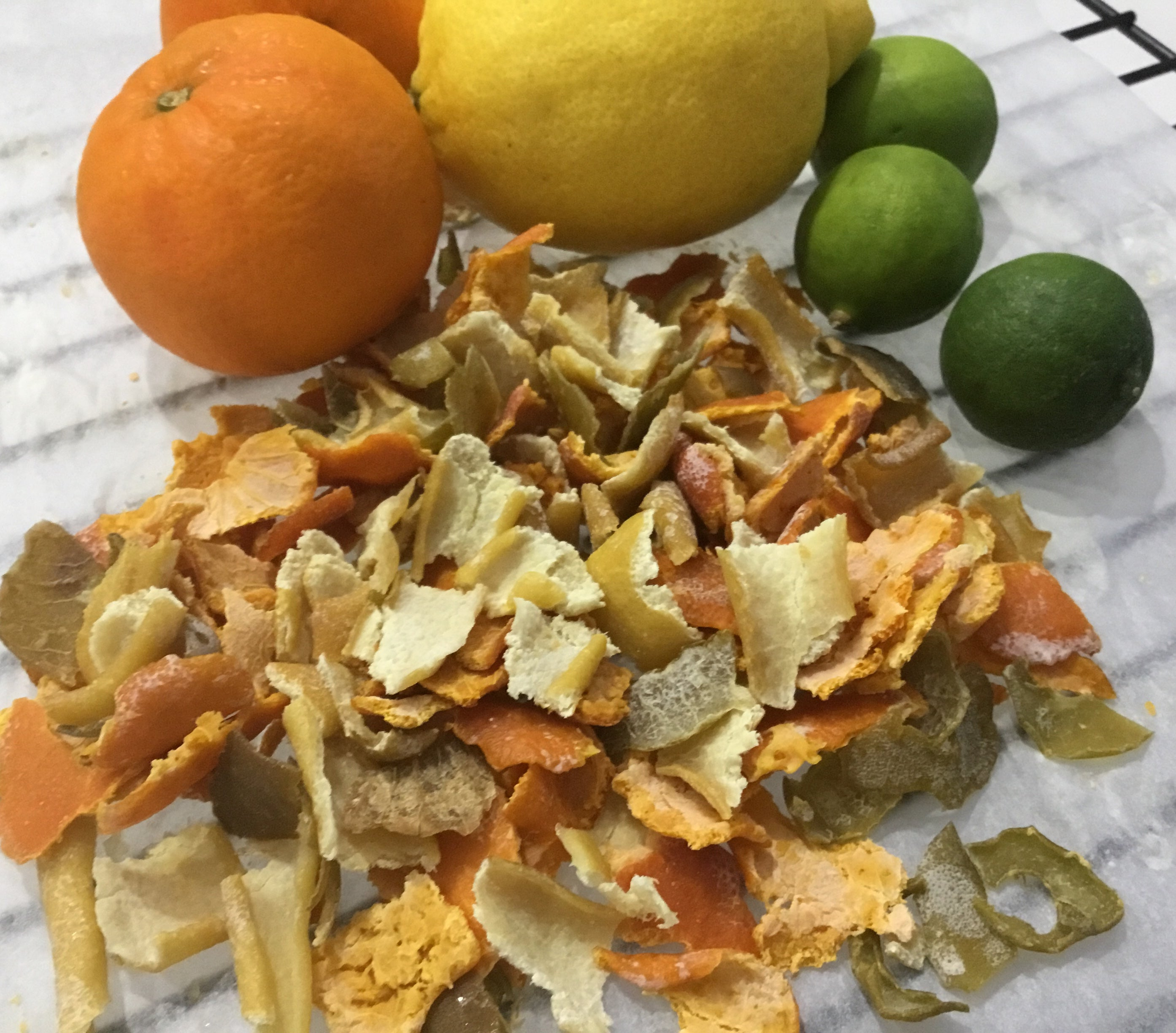 Sugar-Free Candied Citrus Peel