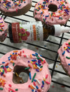 Low Carb Sugar-Free Tazo Tea Raspberry Donuts