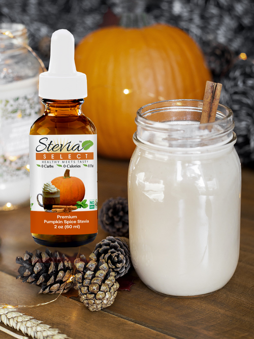 Stevia Liquid Pumpkin Spice Sweet Drops 2oz