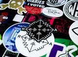 3 Inch Black Vinyl Die Cut Sticker - Retia Black